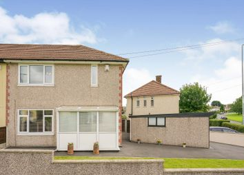 Thumbnail 2 bed semi-detached house for sale in North Parkway, Leeds, West Yorkshire