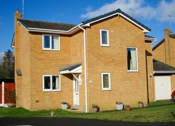 Thumbnail 4 bedroom detached house for sale in Ffordd Ystrad, Wrexham