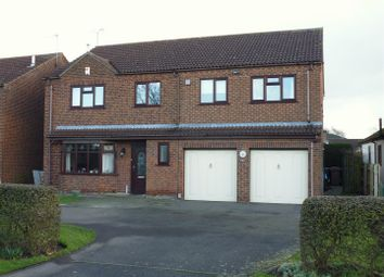 Thumbnail 5 bed detached house for sale in Mill Lane, North Hykeham, Lincoln