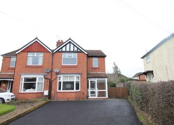 Thumbnail 3 bed semi-detached house to rent in Middlewich Road, Holmes Chapel, Crewe
