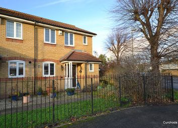 Thumbnail 3 bed end terrace house for sale in Sherbourne Gardens, Shepperton