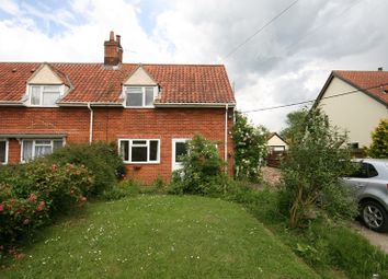 Thumbnail 3 bed semi-detached house to rent in Chapel Road, Morley St. Botolph, Wymondham