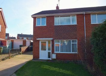 Thumbnail 3 bed semi-detached house to rent in Ffordd Gryffydd, Llay, Wrexham