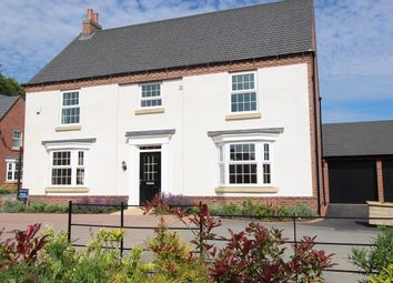 Thumbnail 5 bed detached house for sale in Longbreach Road, Kibworth Harcourt, Leicester