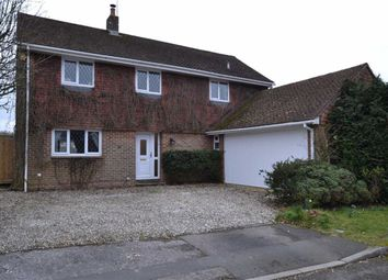 Thumbnail 4 bedroom detached house for sale in Lipscomb Close, Hermitage, Berkshire