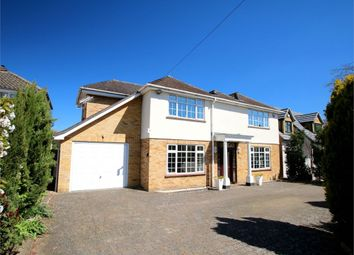 Thumbnail 4 bed detached house for sale in Saviles Close, Eaton Ford, St. Neots
