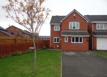Thumbnail 4 bed detached house for sale in Crompton Way, Lowton, Cheshire