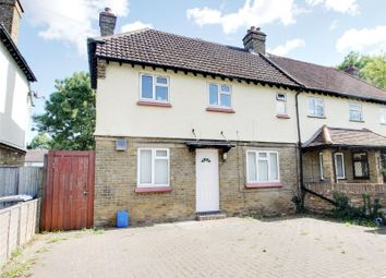 Thumbnail 3 bed semi-detached house for sale in Chilsey Green Road, Chertsey, Surrey
