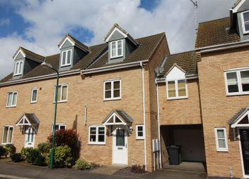 Thumbnail 4 bed town house for sale in East Of England Way, Orton Northgate, Peterborough