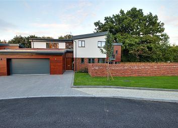 Thumbnail 4 bed detached house for sale in Holly Bush Lane, Bushey, Hertfordshire