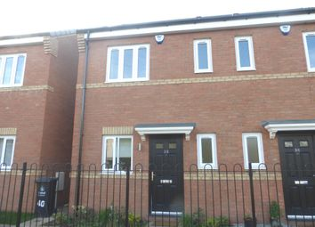 Thumbnail 2 bed semi-detached house for sale in Shropshire Close, Walsall
