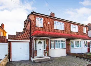 Thumbnail 3 bed semi-detached house for sale in Millbrook Gardens, Gidea Park, Romford
