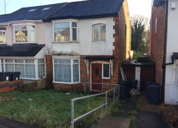 Thumbnail 3 bedroom semi-detached house for sale in Stechford Road, Birmingham