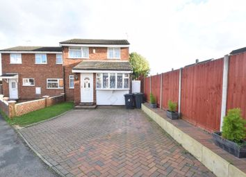 Thumbnail 3 bed semi-detached house for sale in Dunsmore Road, Luton