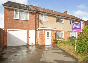 Thumbnail 4 bed semi-detached house for sale in Coplow Crescent, Syston, Leicester