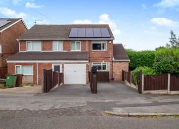 Thumbnail 3 bed semi-detached house for sale in Hempshill Lane, Bulwell, Nottingham