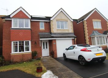 Thumbnail 4 bedroom detached house for sale in St Cuthberts Meadow, Sacriston