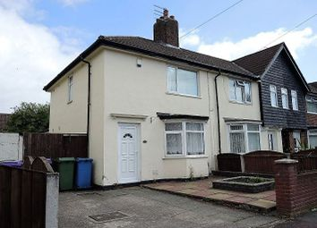 Thumbnail 3 bedroom end terrace house to rent in Adcote Road, Dovecot, Liverpool