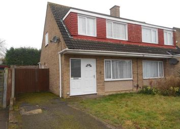 Thumbnail 3 bed semi-detached house for sale in Harrington Drive, Bedford, Bedfordshire