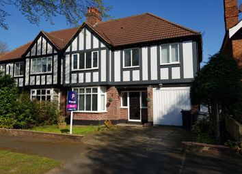 Thumbnail 4 bed semi-detached house to rent in Manor Road, Birmingham