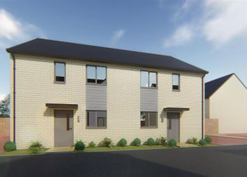 Thumbnail 3 bed semi-detached house for sale in Plot 19 Spire View, Whittlesey, Peterborough