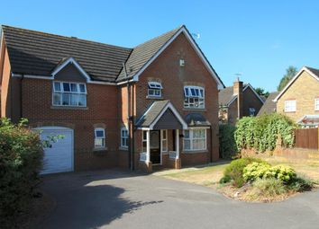 Thumbnail 4 bed detached house for sale in Ayjay Close, Aldershot