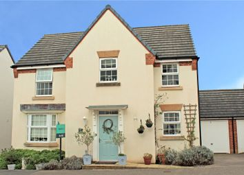 Thumbnail 4 bed detached house for sale in Cambridge Way, Cullompton, Devon