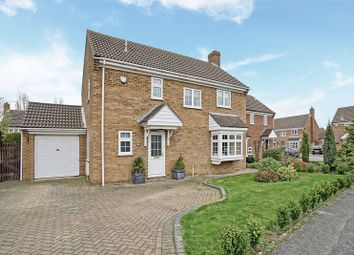 Thumbnail 4 bedroom detached house for sale in Monarch Road, Eaton Socon, St. Neots