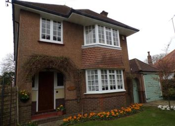Thumbnail 4 bed detached house for sale in Offington Drive, Worthing, West Sussex