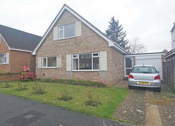 Thumbnail 3 bed detached house for sale in Meadow Close, Bury St Edmunds