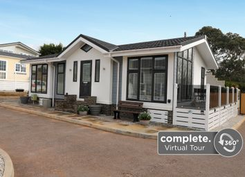 Smugglers Caravan Park, Teignmouth Road, Holcombe, Dawlish EX7. 2 bed detached bungalow for sale