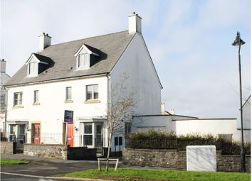 Thumbnail 4 bed town house for sale in Heathland Way, Llandarcy