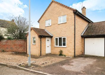 Thumbnail 3 bed link-detached house for sale in St Mary's Walk, Steeple Bumpstead