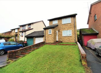 Thumbnail 3 bed link-detached house for sale in Hollingbourne Crescent, Crawley, West Sussex.