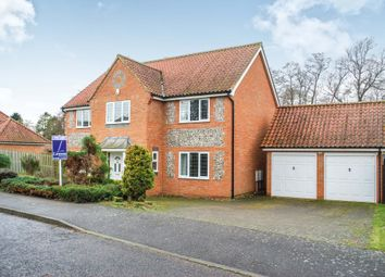 Thumbnail 5 bedroom detached house to rent in Arlington Way, Thetford, Norfolk