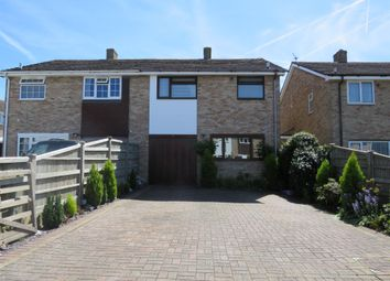 Thumbnail 3 bed semi-detached house for sale in Hampden Close, Chalgrove, Oxford