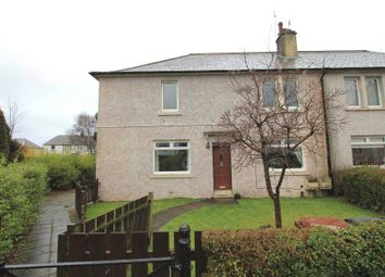 Thumbnail 2 bed flat for sale in Stirling Drive, Johnstone
