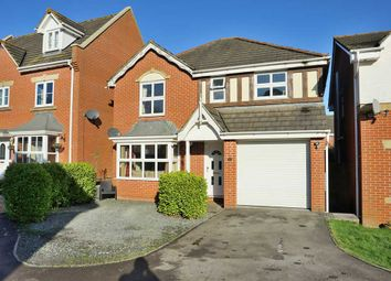 Thumbnail 4 bed detached house for sale in Lancaster Close, Cullompton
