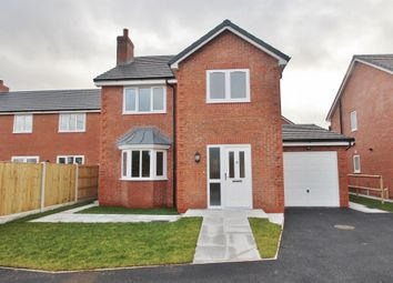 Thumbnail 4 bed detached house for sale in Poplars Close, Alltami Road, Mold