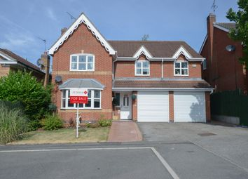 Thumbnail 5 bed detached house for sale in Fairburn Croft Crescent, Barlborough, Chesterfield