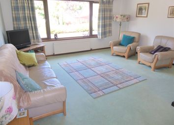 Thumbnail 3 bed detached bungalow for sale in Woodside Drive, Forres
