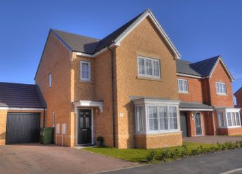 Thumbnail 4 bedroom detached house for sale in St. Nicholas Drive, Bedlington