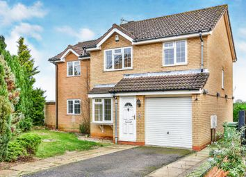 Thumbnail 4 bed detached house for sale in Roman Crescent, Swaffham