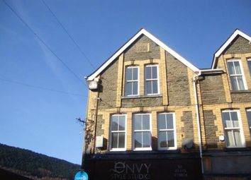 Thumbnail 3 bedroom maisonette to rent in Church Street, Abertillery