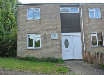 Thumbnail 3 bed end terrace house for sale in Middleton, Bretton, Peterborough, Cambridgeshire