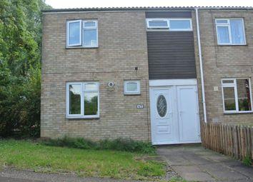 Thumbnail 3 bedroom end terrace house for sale in Middleton, Bretton, Peterborough, Cambridgeshire