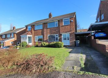 Thumbnail Semi-detached house for sale in Peveril Close, Whitefield, Manchester