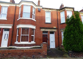 Thumbnail 3 bedroom flat for sale in Tosson Terrace, Heaton, Newcastle Upon Tyne