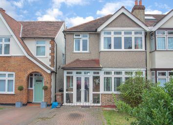 Thumbnail 3 bed semi-detached house to rent in Sutton Common Road, Sutton, Surrey