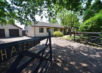 Thumbnail 4 bed detached bungalow for sale in Mill Lane, Higher Heath, Whitchurch